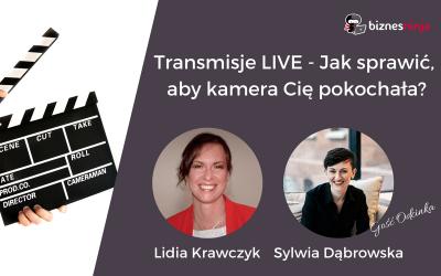 Jak sprawić, by kamera Cię pokochała – wywiad z Sylwią Dąbrowską