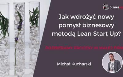 Jak wdrażać pomysł biznesowy metodą Lean Start Up?