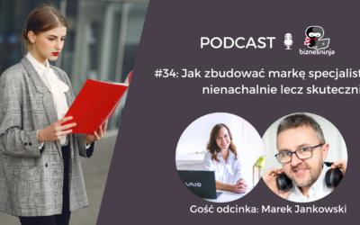 Jak budować markę specjalisty nienachalnie iskutecznie – rozmowa zMarkiem Jankowskim